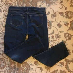 Gap maternity low panel ankle skinny jeans